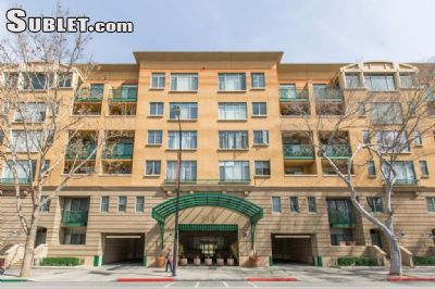 Image 1 either furnished or unfurnished 2 bedroom Apartment for rent in Downtown San Jose, San Jose