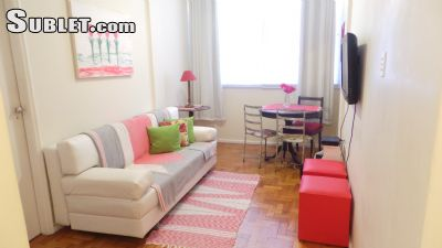 Image 1 furnished 1 bedroom Apartment for rent in Copacabana, Rio de Janeiro City