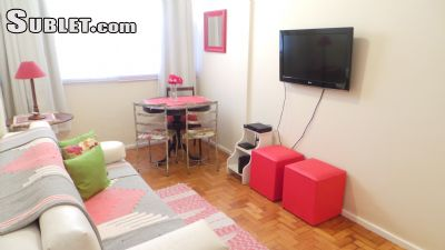 Image 2 furnished 1 bedroom Apartment for rent in Copacabana, Rio de Janeiro City