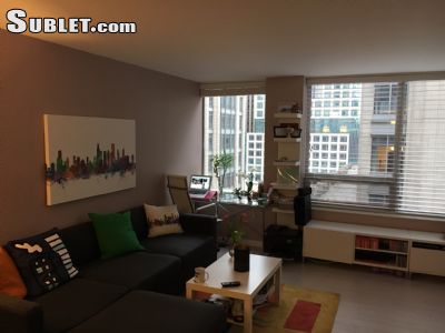 Image 2 furnished 1 bedroom Apartment for rent in Near North, Downtown