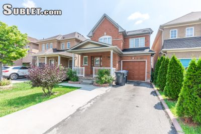 Image 1 furnished 3 bedroom House for rent in Brampton, Peel Region