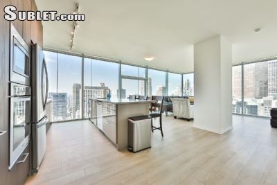 Image 1 furnished 3 bedroom Apartment for rent in Near North, Downtown