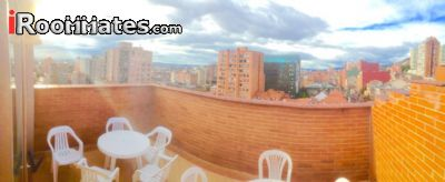 Image 2 Furnished room to rent in Chapinero, Bogota 5 bedroom House