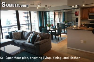 Image 1 furnished 1 bedroom Apartment for rent in Tysons Corner, DC Metro