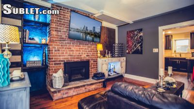 Image 1 furnished 3 bedroom Townhouse for rent in Bella Vista-Italian Market, South Philadelphia