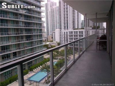 Image 9 furnished 1 bedroom Apartment for rent in Brickell Avenue, Miami Area