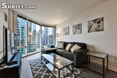Image 1 furnished 1 bedroom Apartment for rent in Near North, Downtown
