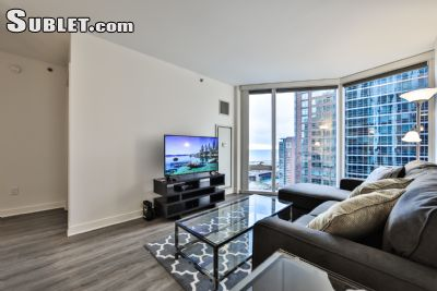 Image 6 furnished 1 bedroom Apartment for rent in Near North, Downtown
