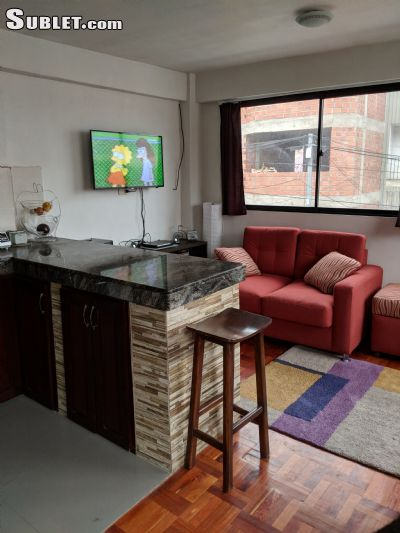 Image 4 furnished 1 bedroom Apartment for rent in La Paz, La Paz BO