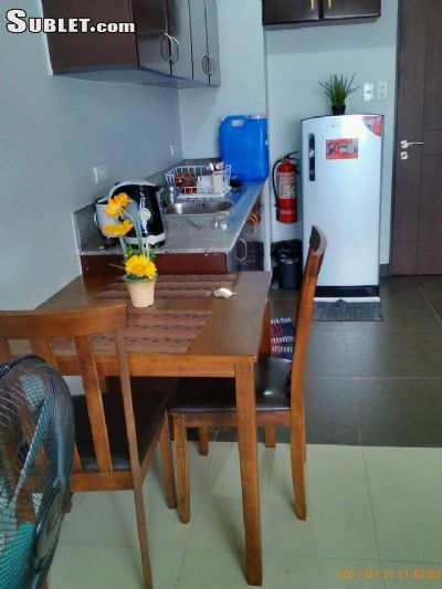 Image 3 furnished Studio bedroom Apartment for rent in Quezon City, National Capital