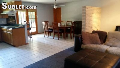 Image 1 furnished 3 bedroom House for rent in Castle Hills, NW San Antonio