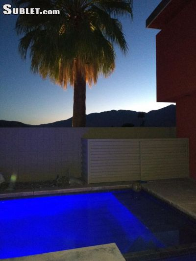 Image 1 furnished 3 bedroom Townhouse for rent in Palm Springs, Southeast California
