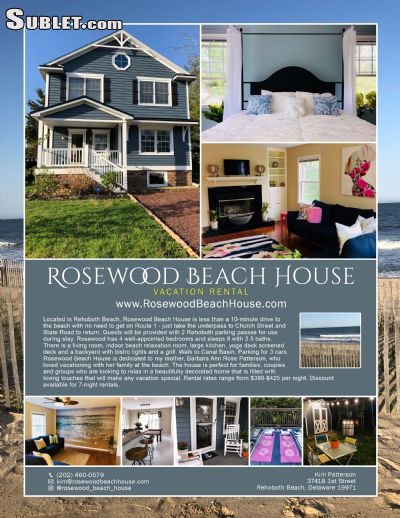 $2499 4 Rehoboth Beach, Sussex