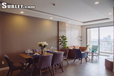 Image 1 either furnished or unfurnished 2 bedroom Apartment for rent in District 4, Ho Chi Minh City