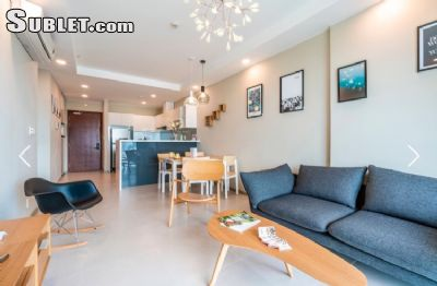 Image 2 furnished 2 bedroom Apartment for rent in District 4, Ho Chi Minh City