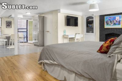 Image 1 furnished Studio bedroom Apartment for rent in Washington Heights, Manhattan