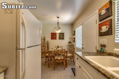 Image 5 furnished 2 bedroom Townhouse for rent in Scottsdale Area, Phoenix Area