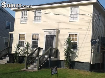 Image 1 unfurnished 3 bedroom Townhouse for rent in Gentilly, New Orleans Area