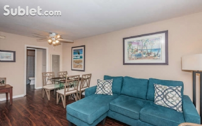 Image 2 furnished 1 bedroom Apartment for rent in Pacific Beach, Northern San Diego