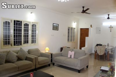 Image 1 either furnished or unfurnished 2 bedroom House for rent in Chennai, Tamil Nadu