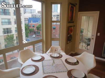 Image 3 furnished 2 bedroom Apartment for rent in Marina, Central San Diego