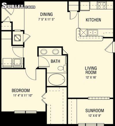 Image 6 either furnished or unfurnished 1 bedroom Apartment for rent in Kingwood, NE Houston