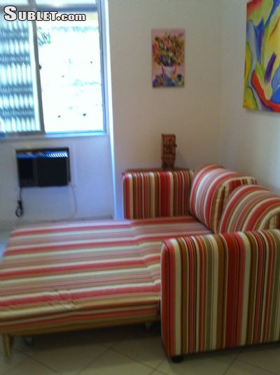 Image 1 furnished Studio bedroom Apartment for rent in Ipanema, Rio de Janeiro City
