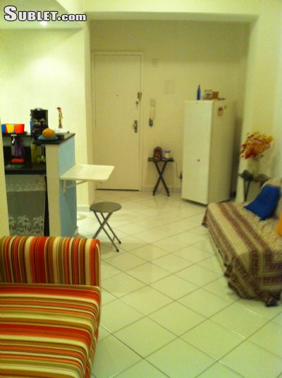 Image 9 furnished Studio bedroom Apartment for rent in Ipanema, Rio de Janeiro City