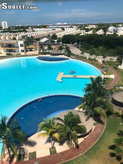 Image 2 furnished 3 bedroom Apartment for rent in Cancun, Quintana Roo