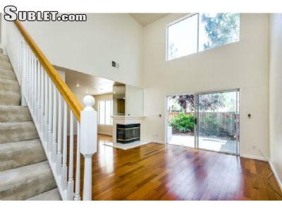 Image 1 unfurnished 3 bedroom Townhouse for rent in Milpitas, Santa Clara County