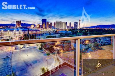 Image 1 furnished 1 bedroom Apartment for rent in Paradise, Las Vegas Area