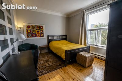 Image 2 Furnished room to rent in Plateau Mount Royal, Montreal 4 bedroom Apartment