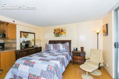 Image 1 furnished Studio bedroom Apartment for rent in Waikiki, Oahu