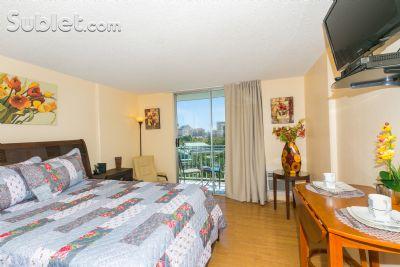 Image 2 furnished Studio bedroom Apartment for rent in Waikiki, Oahu