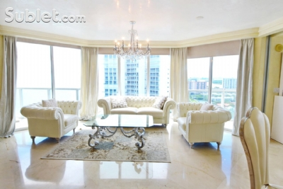 Image 1 furnished 2 bedroom Apartment for rent in Sunny Isles Beach, Miami Area