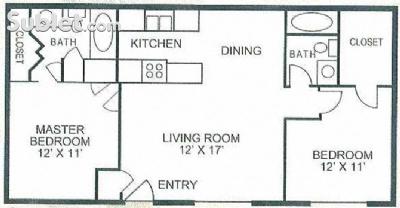 Image of $1374 2 apartment in East El Paso in El Paso, TX