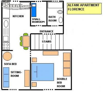 Image 5 furnished 2 bedroom Apartment for rent in Greve In Chianti, Florence