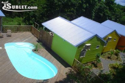 Image 1 furnished 1 bedroom Apartment for rent in Le Gosier, Guadeloupe