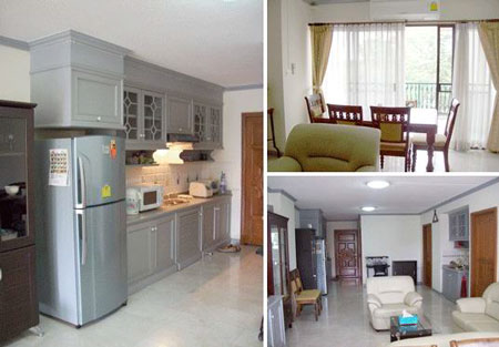 Image 1 either furnished or unfurnished 1 bedroom Apartment for rent in Chiang Mai, North Thailand