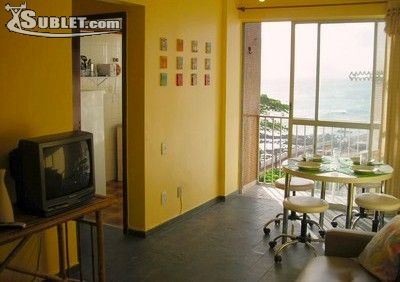 Image 3 either furnished or unfurnished 1 bedroom Apartment for rent in Salvador, Bahia