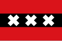 image of Amsterdam flag