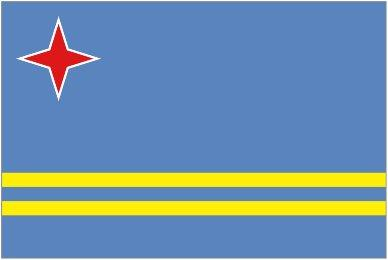 Image of Aruba flag
