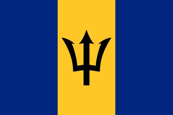 Image of Barbados flag