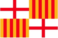 image of Barcelona flag