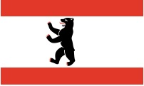 image of Berlin flag