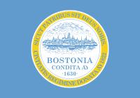 image of Boston state flag