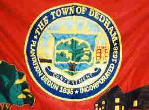 image of Dedham area flag