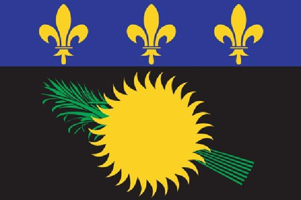 Image of Guadeloupe flag