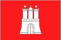 image of Hamburg flag