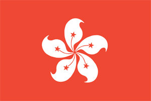 image of Hong Kong flag